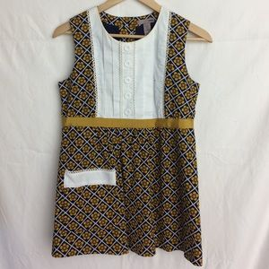 H&M women's printed top size 6