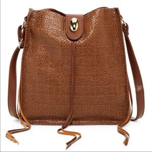 CROSSBODY BAG IN BROWN