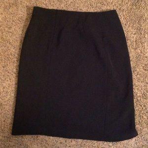 Alia Dresses & Skirts - Alia Black Skirt with Slit