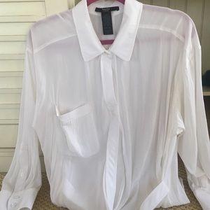 Smythe Tops - Bottom down fancy blouse