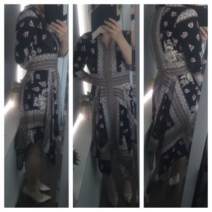 VICI Collection Dresses & Skirts - Printed Handkerchief Dress