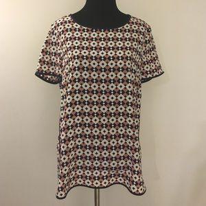 J Crew Silk Shirt