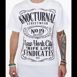 NWT Knockturnal Streetwear Skater's T Shirt Medium