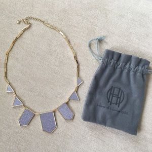 House of Harlow 1960 Jewelry - HOUSE OF HARLOW blue star station necklace