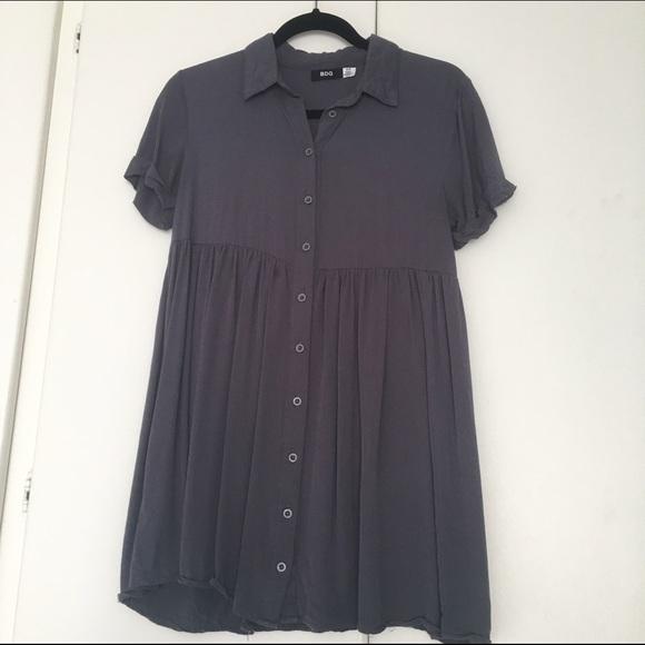 d1fe5607f4c BDG Babydoll Shirtdress