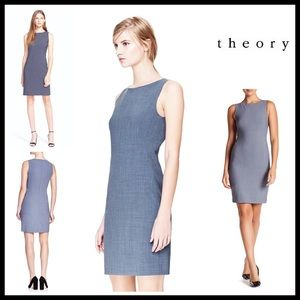 Theory Dresses & Skirts - ❗1-HOUR SALE❗THEORY SHEATH DRESS Stretch WoolBlend