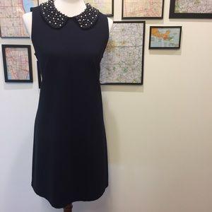 Glamorous Philosophy Beaded Collar Dress