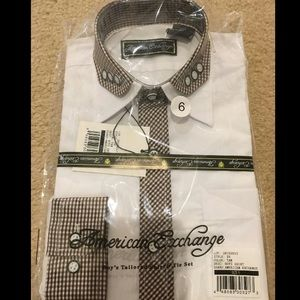 american exchange Other - Boys button down dress shirt