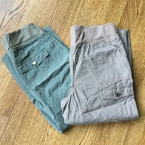 Oh Baby by Motherhood Pants - Maternity crop pants