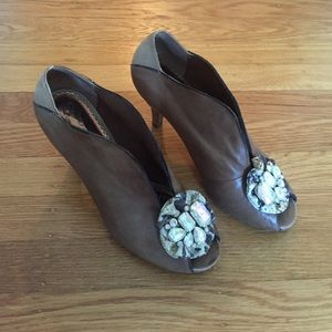 Anthropologie Shoes - Poetic Licence jewel toe booties