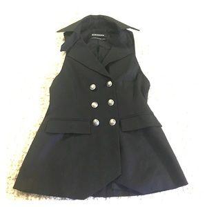 Club Monaco Jackets & Blazers - Club Monaco Black Button Front Vest