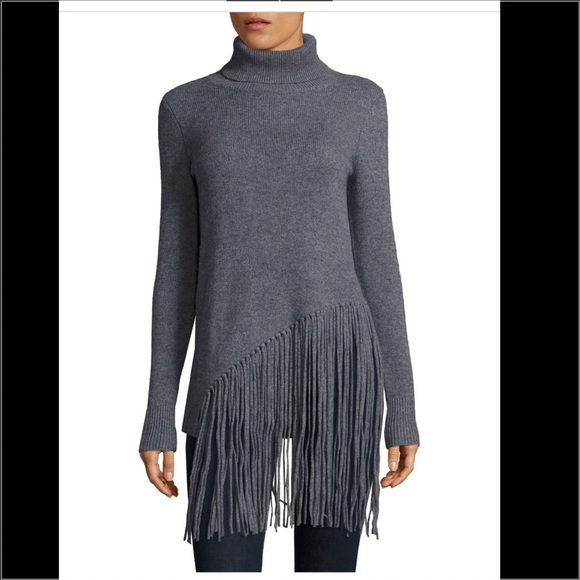 83% off Saks Fifth Avenue Sweaters - Saks 5th Avenue Fringe ...