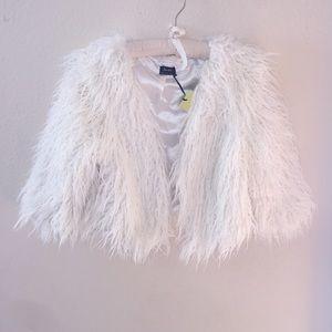 Bardot Jackets & Blazers - Bardot Faux Fur Mini