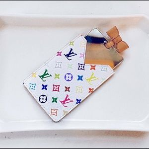 Louis Vuitton Accessories - Louis Vuitton Multicolor Blanc Mirror