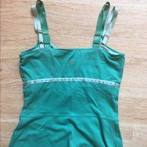 lululemon athletica Tops - Lululemon Teal Aqua Green Tank sz 6