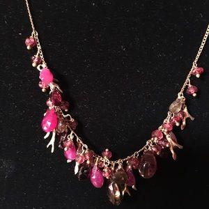 Alexis Bittar gemstone necklace