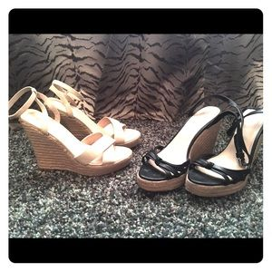 Shoes - Victoria's Secret heels - 2 pairs, size 8.