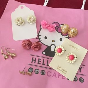 Cute earring bundle