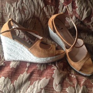 Camel Color Wedges from Rue21
