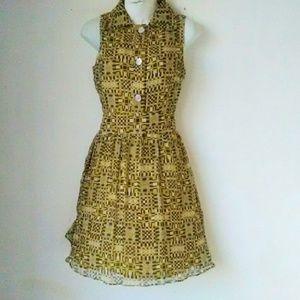 Jack Rogers Dresses & Skirts - Jack Rogers Silk Sleeveless Dress