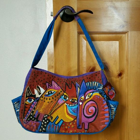 a48bcf0e43df Laurel Burch Handbags - Laurel Burch Shoulder Bag Horse Purse Mares