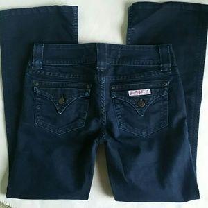 Hudson Jeans Denim - HUDSON Dark Wash Low Rise Bootcut Jean size 27