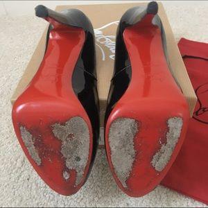 45e79ed58f3 Christian Louboutin Shoes - Very Prive 120 Patent Calf Black Size 39