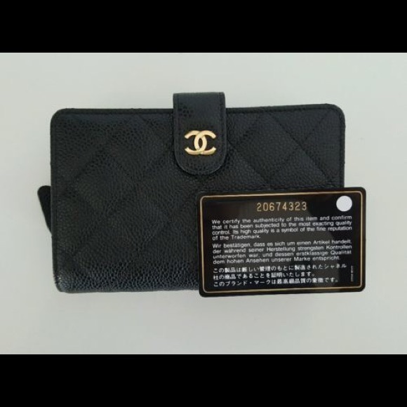 9038cc8ac5be CHANEL Bags | Classic Quilted Lzip Black Wallet | Poshmark
