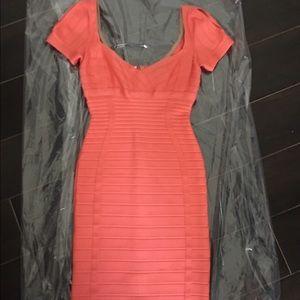 Herve Leger Dresses & Skirts - Herve Leger body con knee length dress