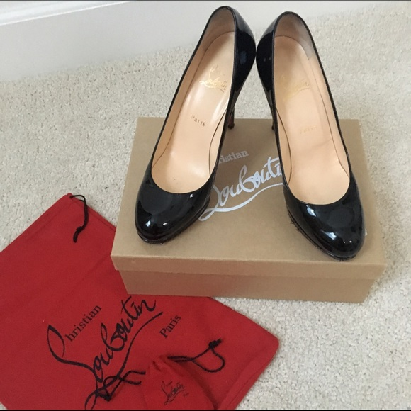 hot sales fd830 a9510 Christian Louboutin New Simple Pump 120 Size 39