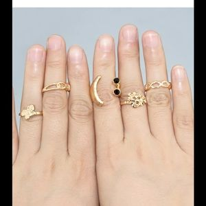 Jewelry - Fashion Gold Knuckle Ring