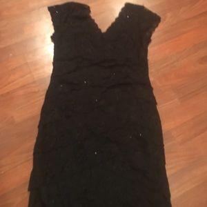 Marina Rinaldi Dresses & Skirts - Lace and sparkle dress