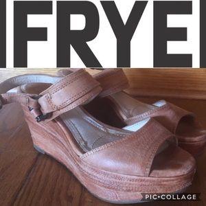 Frye Shoes - Frye Carlie Sling Wedge
