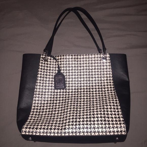 Lauren Ralph Lauren Handbags - Lauren by Ralph Lauren houndstooth bag 7cfa1551f1582