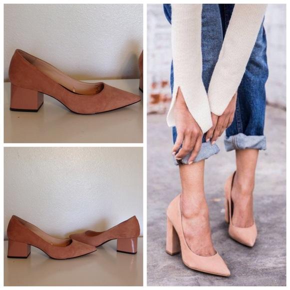 2808772d9f53 Zara block heels. M 587c00e46d64bc38e3022471
