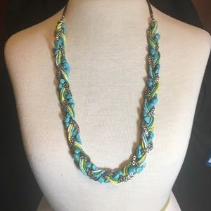 SOLD! JJill turquoise necklace SALE