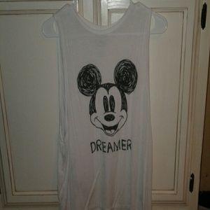 DISNEY Dreamer Mickey mouse tank
