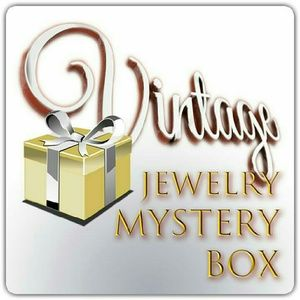 Vintage costume jewelry mystery box