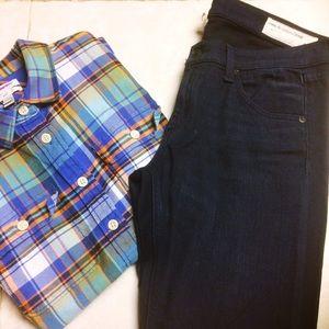 NWOT Rag & Bone Indigo Skinny Jeans