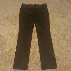 Satiny-look Express pants.