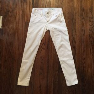 Lilly Pulitzer Resort White Worth Skinny Pants 2