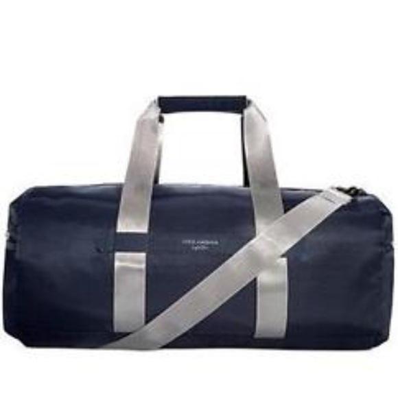 d0285146267a NWT Dolce   Gabbana Light Blue Duffle Bag