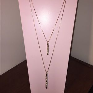 Rose Gold Convertible Necklace