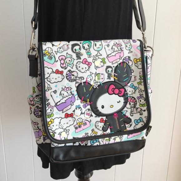 71c9830d4bd3 Tokidoki x hello kitty crossbody bag. M 587c08a72ba50ac24902425f. Other Bags  ...