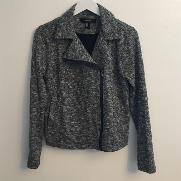 Forever 21 Jackets & Blazers - Side Zip Slim Fit Jacker