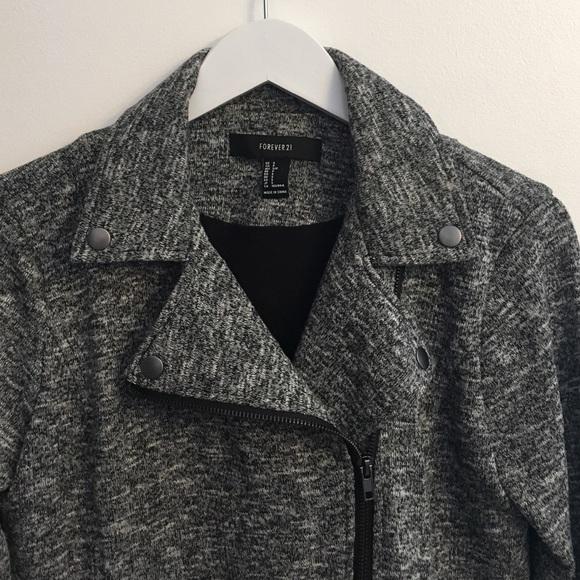 Forever 21 Jackets & Coats - Side Zip Slim Fit Jacker