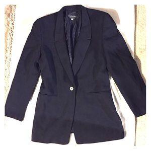 Giorgio Armani Jackets & Blazers - Armani Women's Black Wool Blazer