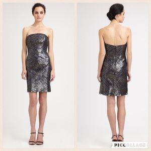 Monique Lhuillier Dresses & Skirts - Authentic MONIQUE LHUILLIER sequin dress