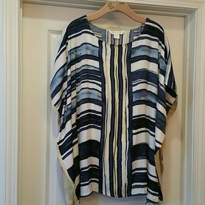 Miraclesuit Tops - NWT 2 piece Miraclebody blouse/cover up