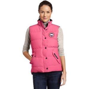 Canada Goose Jackets & Blazers - Adorable Pink Canada Goose Vest